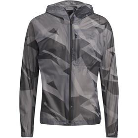 adidas TERREX Agravic TR Graphic Rain Jacket Men, grey six